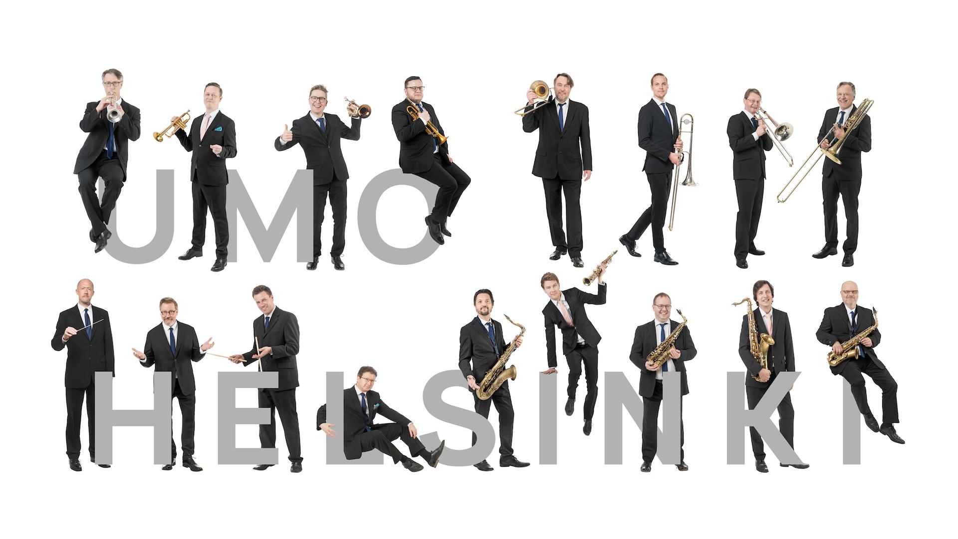 UMO Helsinki Jazz Orchestra -soittajat